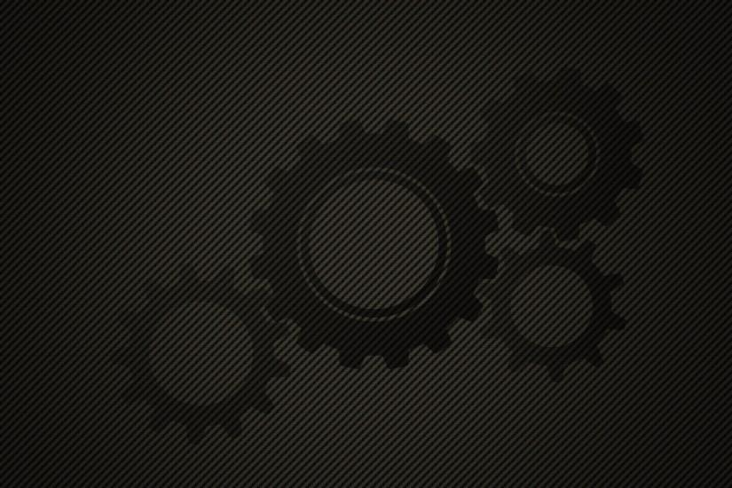 Gears on a background of oblique lines