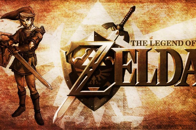 ... The Legend of Zelda - Wallpaper by Symevis