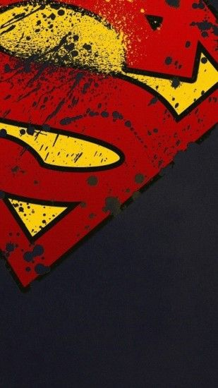 Movies iPhone 6 Plus Wallpapers - Superman Logo Minimal iPhone 6 Plus HD  Wallpaper #Movies