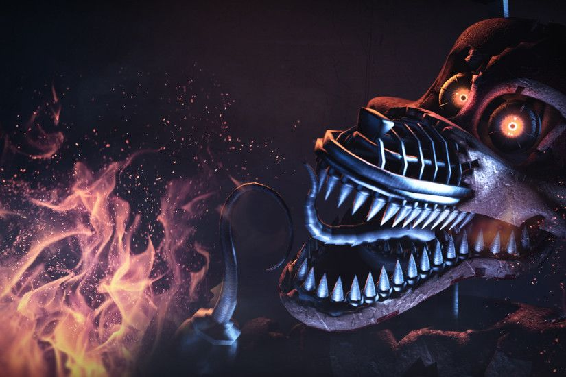 Nightmare Foxy | Wallpaper 1080p ...