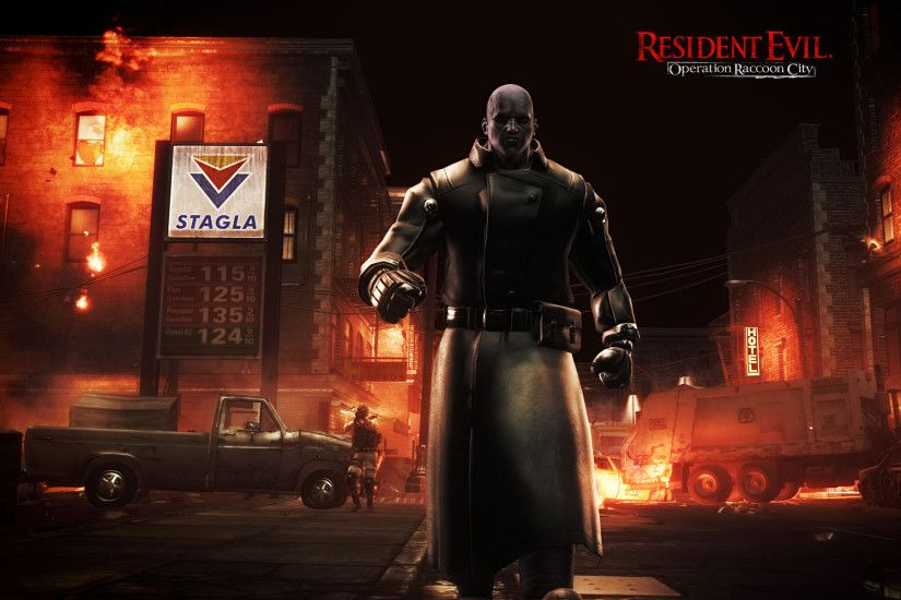 Video Game - Resident Evil: Operation Raccoon City Wallpaper