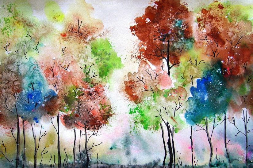 Watercolor Wallpapers HD Pictures.