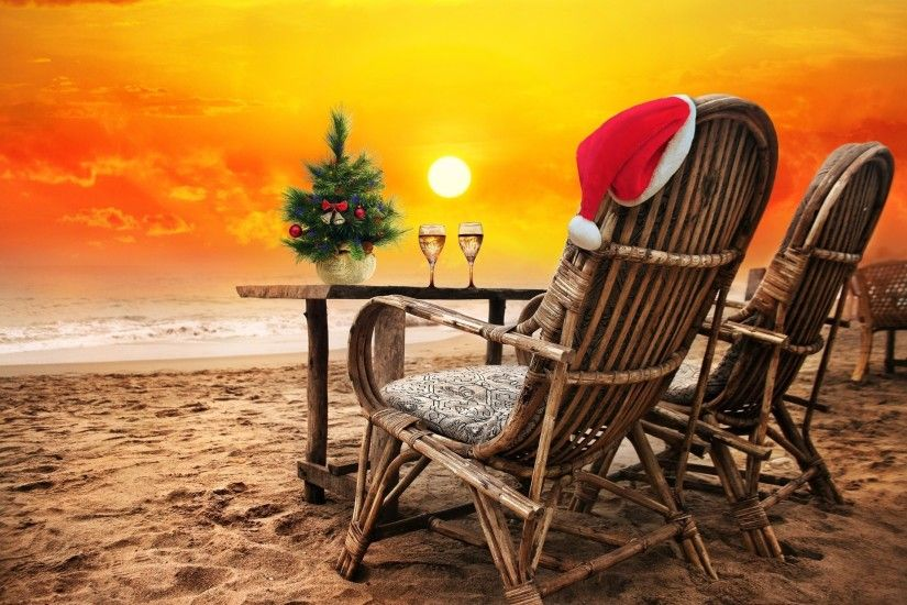 happy new year christmas beach sand sea c new year beach sand sea sunset