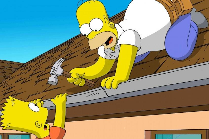 download simpsons wallpaper 1920x1200 for phone