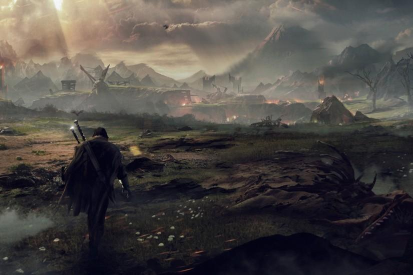 3840x2160 Wallpaper middle-earth shadow of mordor, the lord of the rings,  talion