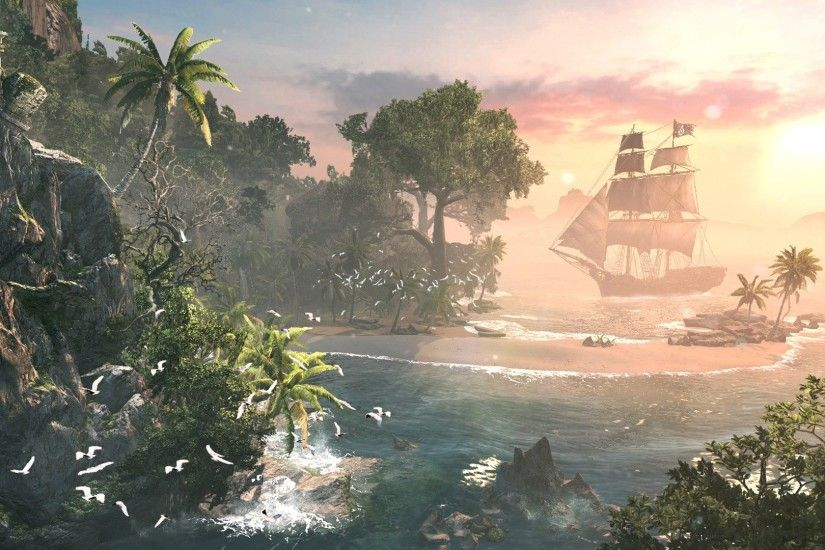 Assassins Creed IV Black Flag · Assassin's Creed IV - Vista Screenshot