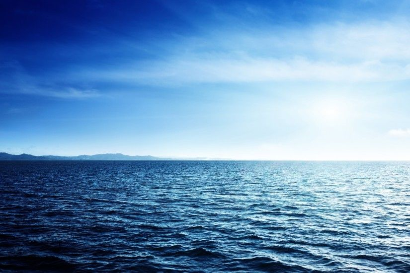 ... Blue Ocean Wallpaper - WallpaperSafari ...