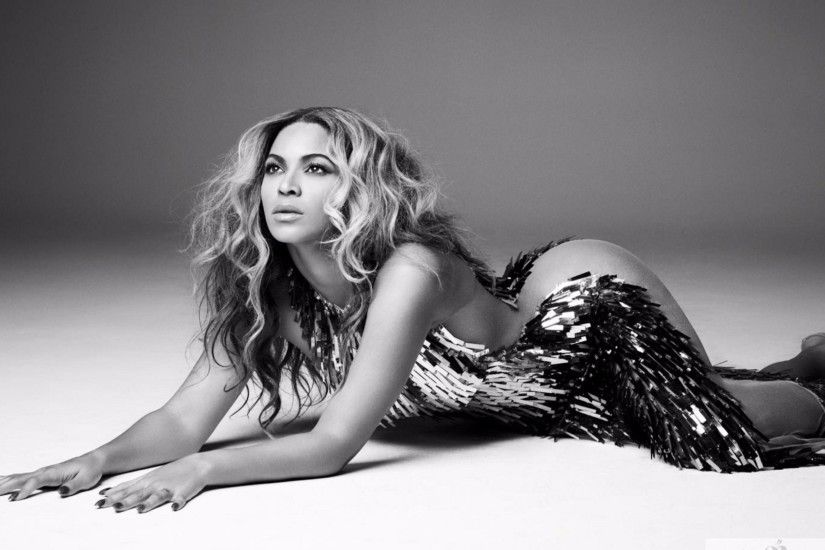 Black and White 2016 Beyonce 4K Wallpaper