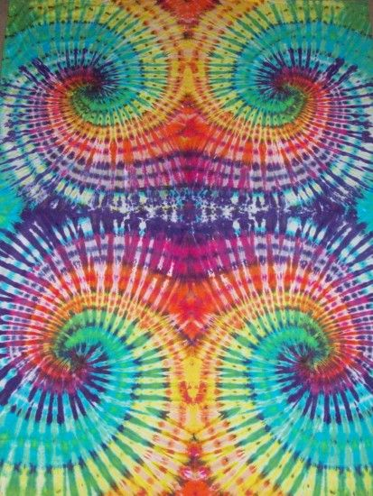 1944x2592 TIE DYE TAPESTRY by:Keith Hicks