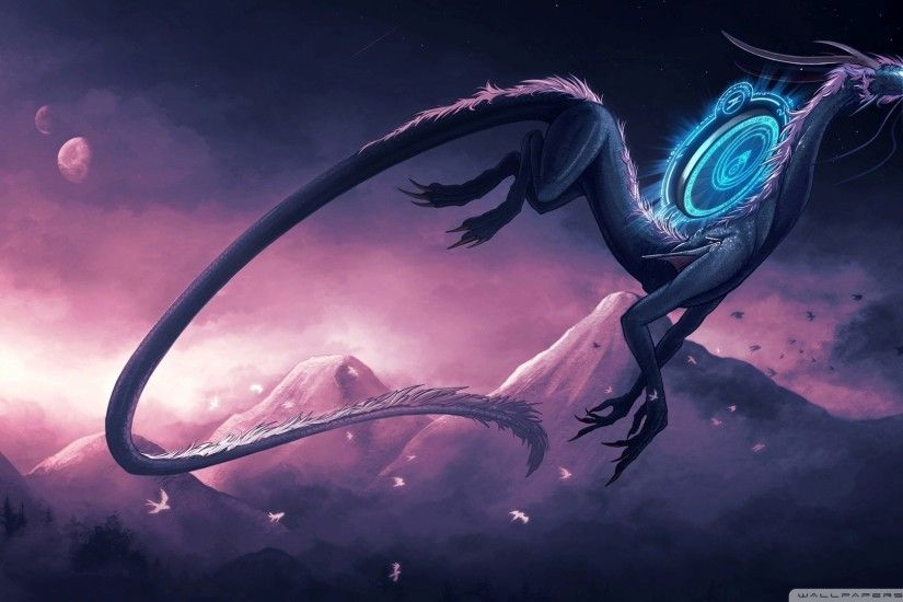 Science Fiction Dragon HD desktop wallpaper : High .