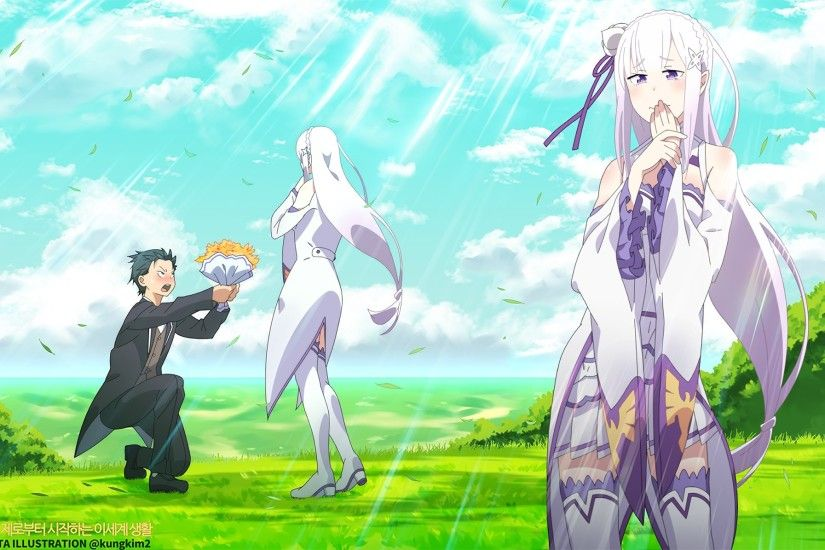 rezero starting life in another world wallpaper: High Definition Backgrounds  - rezero starting life in