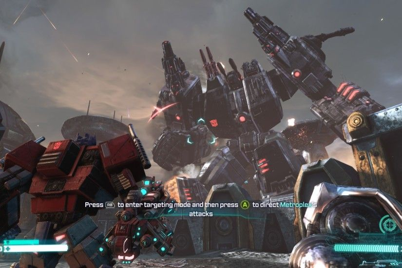 Transformers: Fall of Cybertron screenshots, images and pictures - Giant  Bomb