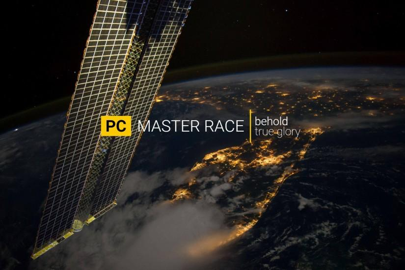 large pc master race wallpaper 1920x1186