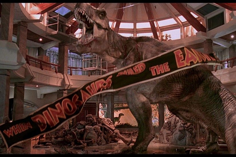 2017-03-15 - Free desktop jurassic park wallpaper - #1606374