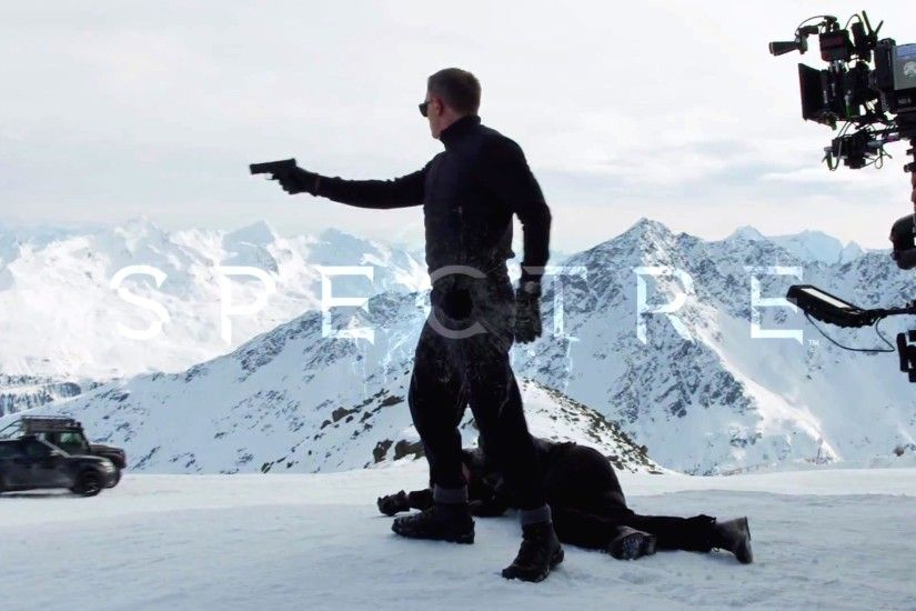 spectre 007 scene English movie