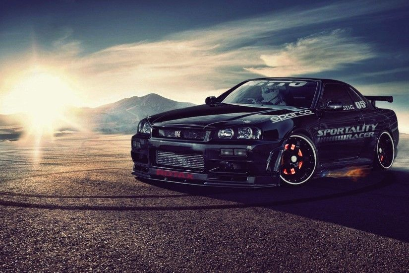 Wallpapers :: Nissan, Nissan Skyline R34 GT-R