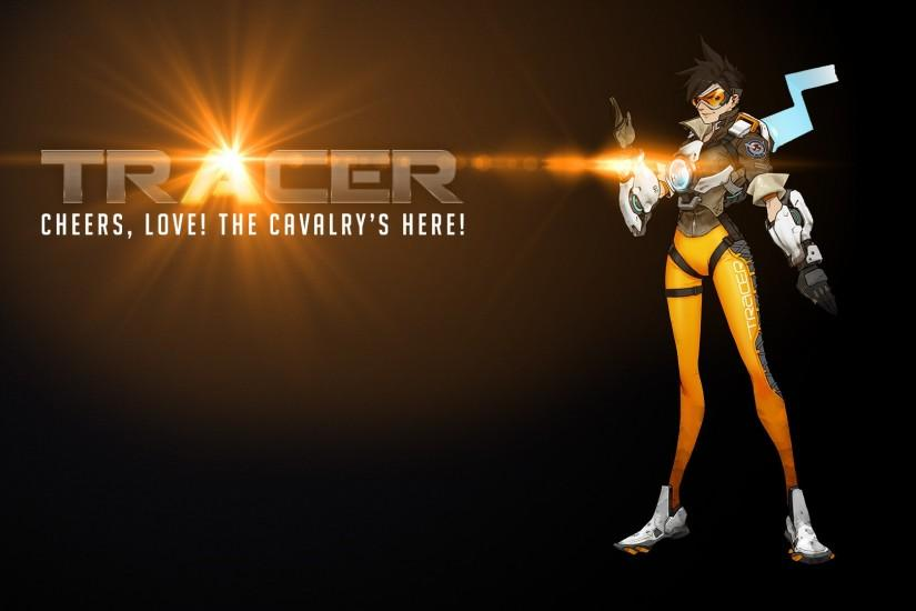 gorgerous overwatch tracer wallpaper 1920x1080