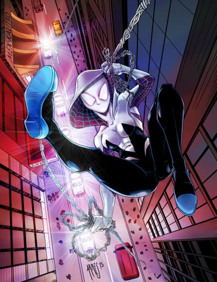 ... Spider-Woman Gwen Stacy Spider-Verse by Ratatman