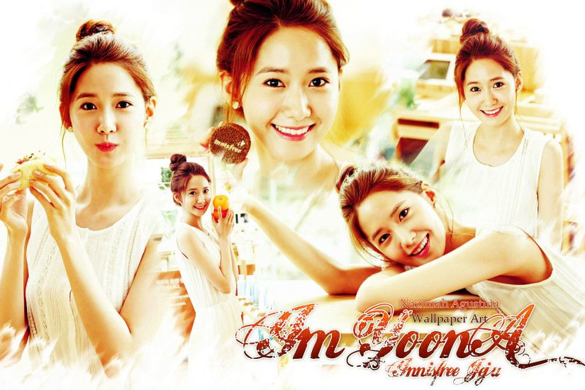 ... yoona innisfree jeju wallpaper snsd cute simple 2015 by nazimah  agustina ...