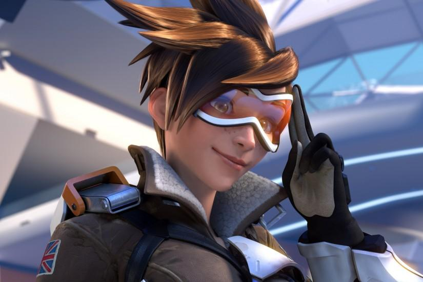popular overwatch tracer wallpaper 2560x1440 for lockscreen