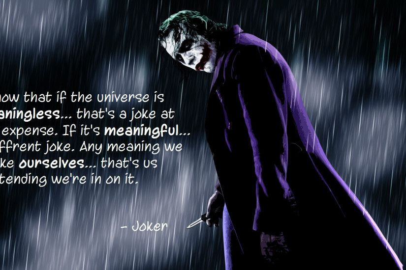 1920x1080 Joker Quotes Wallpapers - Wallpaper Cave .