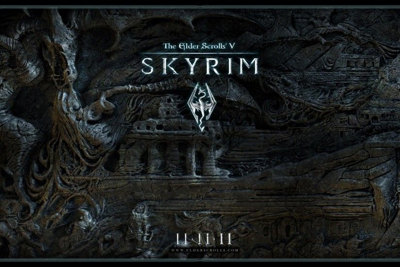 Image - Skyrim-Wallpaper-1.jpg | Elder Scrolls | FANDOM powered by ...