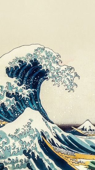 The Great Wave Off Kanagawa [By Hokusai] [Custom Edit] Link : https