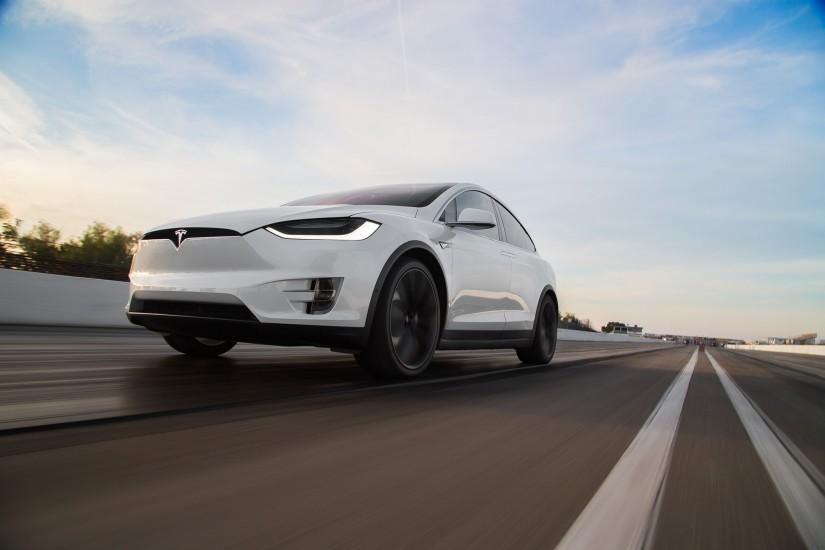 Tesla Model X Computer Wallpaper