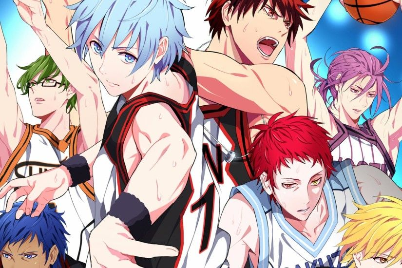 ... Aomine, Murasakibara and Akashi in action, the other characters from  Seirin High such as Kagami, Kiyoshi and the rest of the team along with the  coach, ...