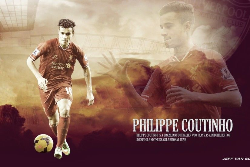 Coutinho Wallpaper Liverpool