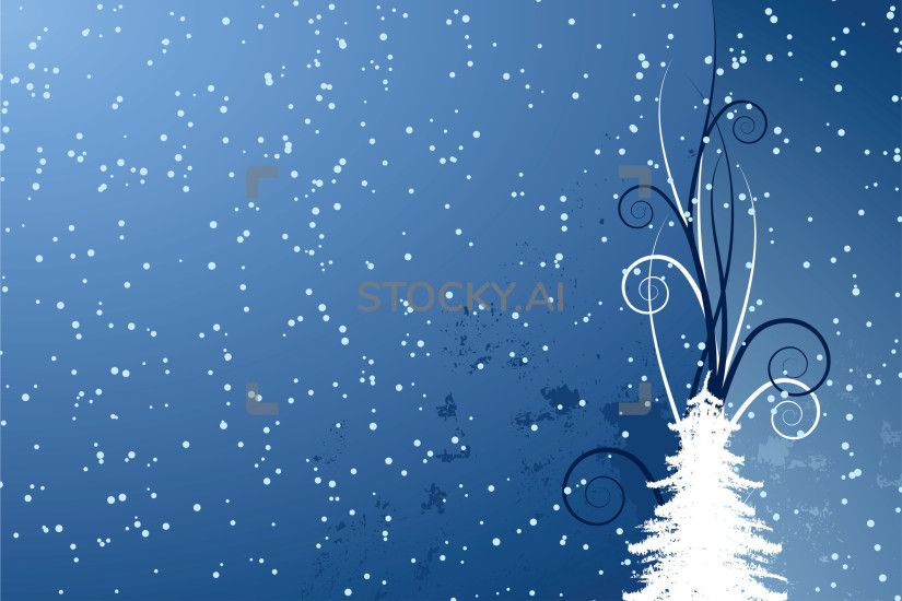 Image of abstract christmas background