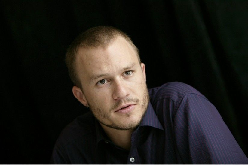 heath ledger heath ledger actor men bristles jacket tattoos earrings
