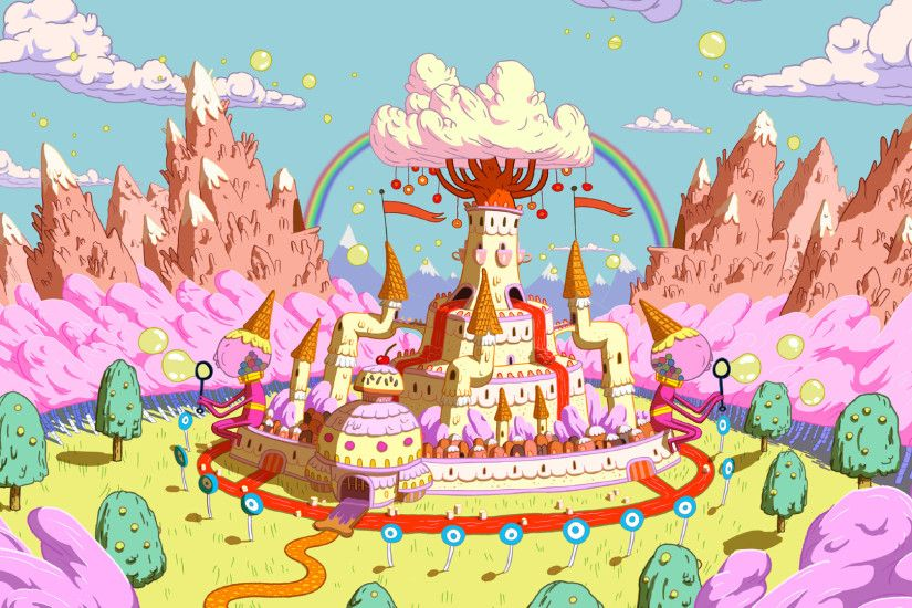 Download Adventure Time Landscape 2560x1440 HD Wallpaper | Painting Party  Ideas | Pinterest | Adventure time, Hd wallpaper and Landscaping
