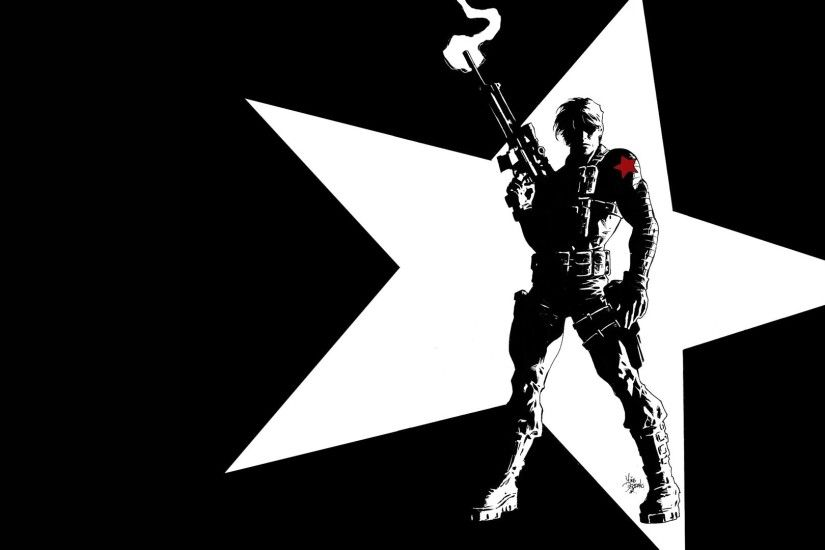 Comics - Winter Soldier Captain America Wallpaper