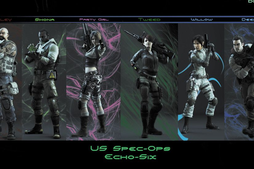 ... US Spec-Ops Echo-Six RE operation Raccoon City by DRV3R