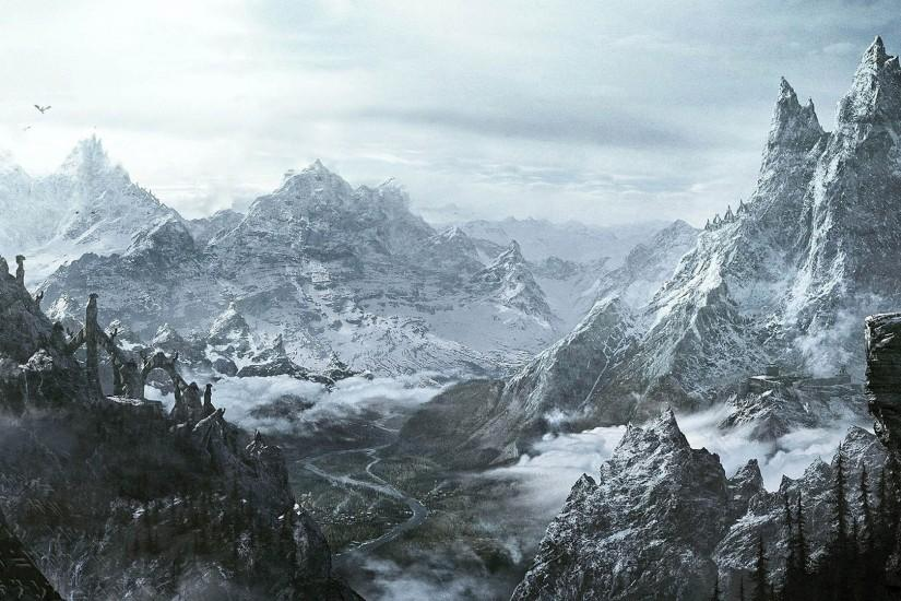 new skyrim wallpaper 1920x1080 x retina