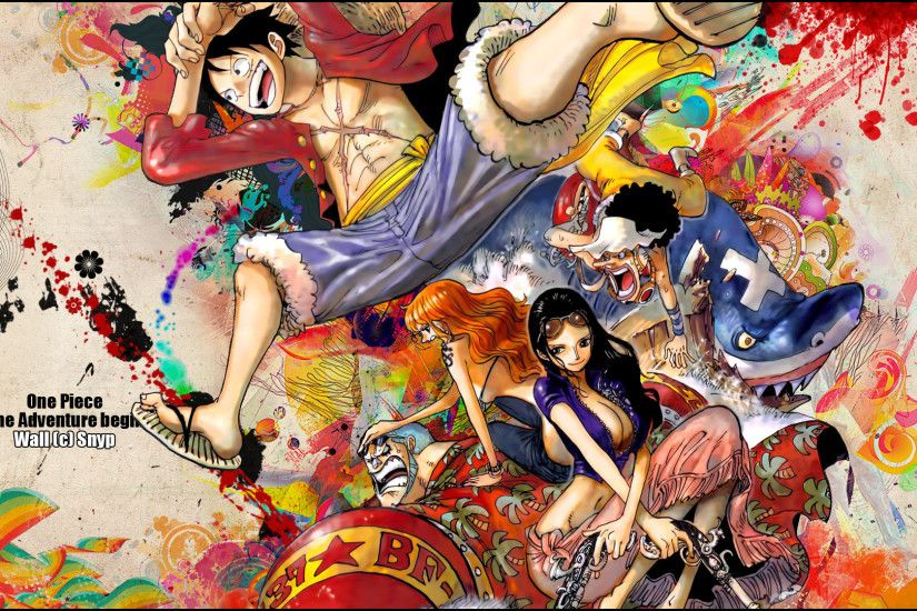 One Piece Wallpaper New World High Def With 1920x1080