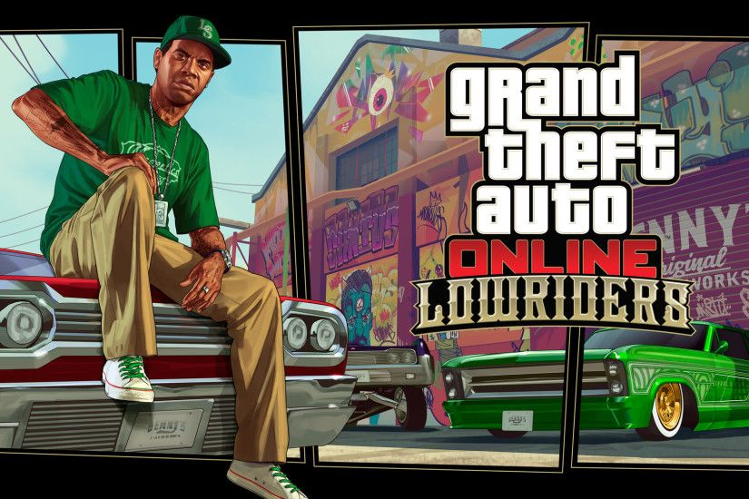 Lowriders Wallpaper from Grand Theft Auto Online