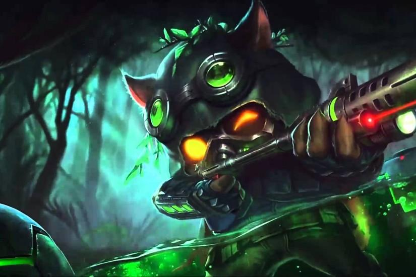 Omega Squad Teemo Login Screen Animation Theme Intro Music Song Official  League of Legends - YouTube