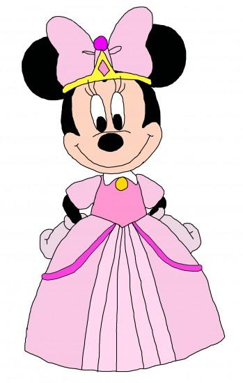 Fan Art of Princess Minnie - Minnie-rella for fans of Disney.