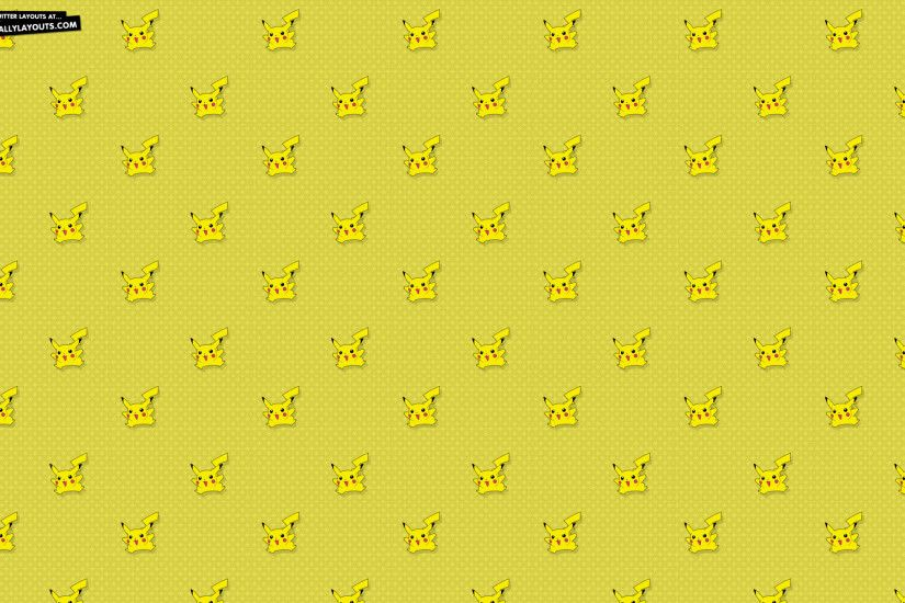 Background Backgrounds Formspring Pikachu Twitter