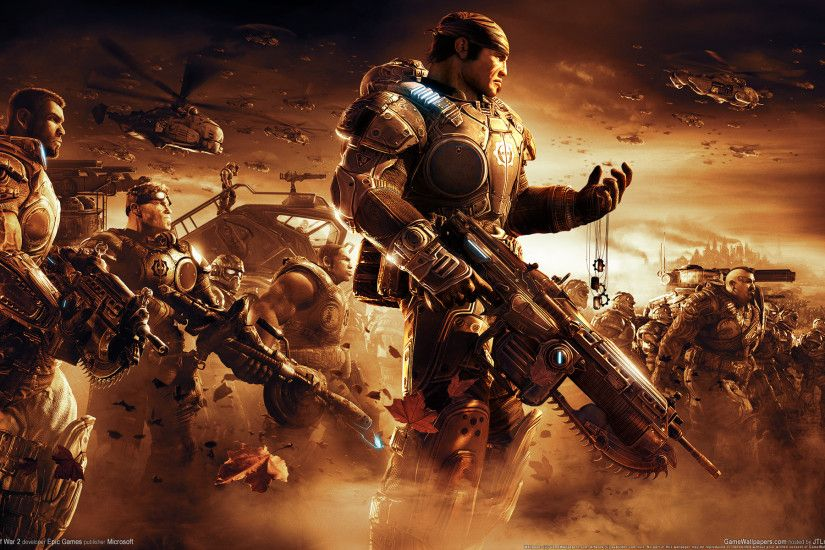 Cool Gears of War Wallpaper