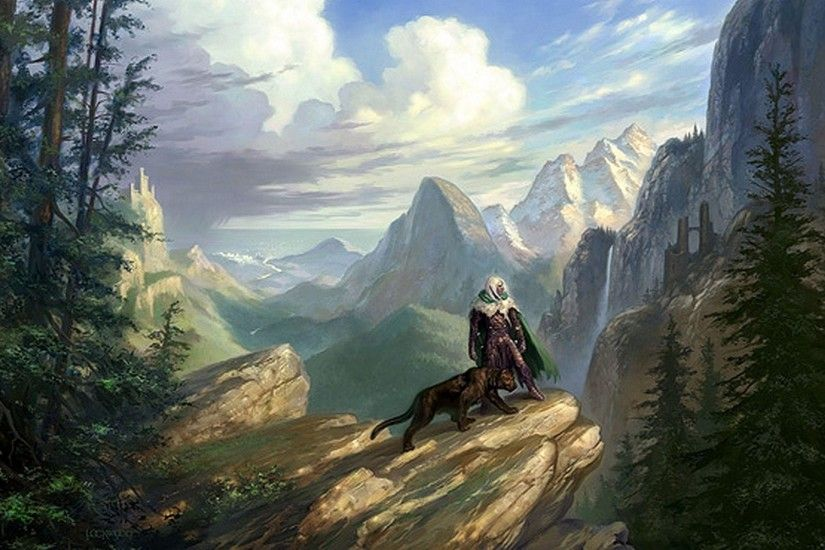 Legend Of Drizzt Wallpaper - Viewing Gallery