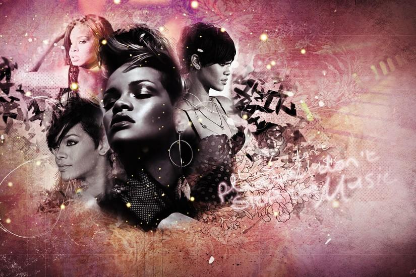 Rihanna Wallpaper by xxHappyHippyxx Rihanna Wallpaper by xxHappyHippyxx