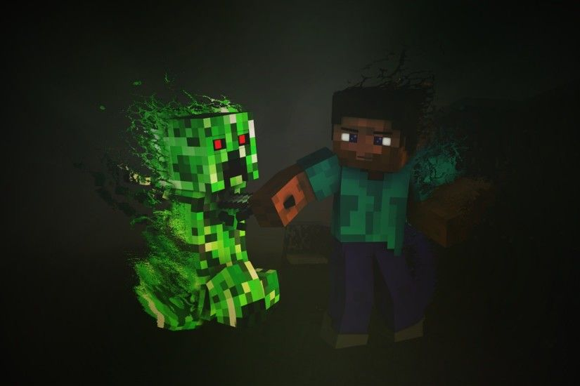 ... minecraft-creeper.jpg 2048x1152 free high resolution wallpaper ...