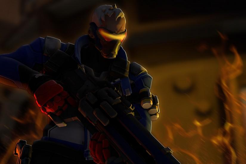 soldier 76 wallpaper 3840x2160 for samsung galaxy