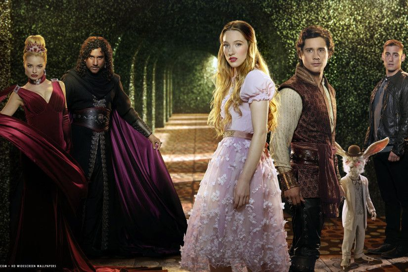 once upon a time in wonderland tv series show hd widescreen wallpaper
