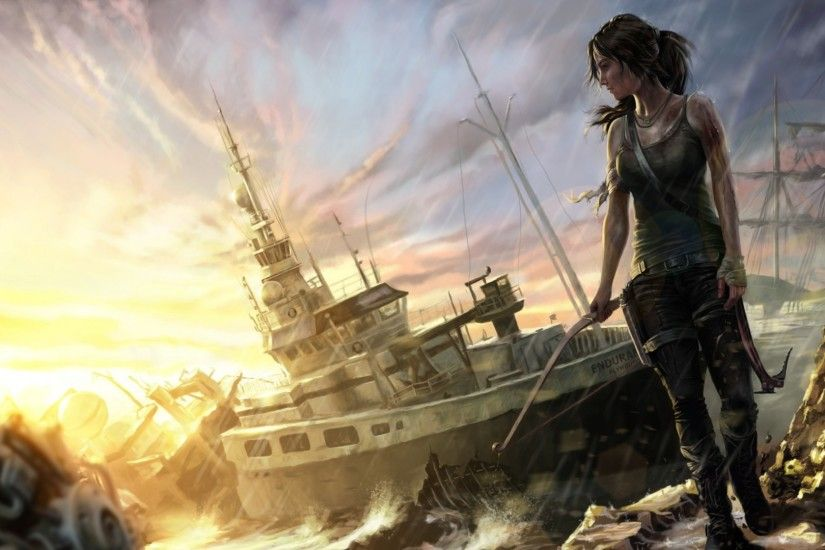 Rise Of <b>Tomb Raider Wallpapers</b>, Top 43 Quality