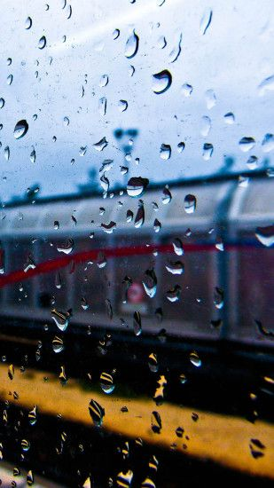 Rainy Window Water Drop Road #iPad #wallpaper | iPad Wallpapers | Pinterest  | Rainy window, Water drops and Wallpaper