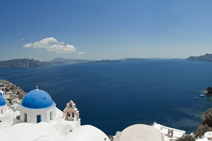 30 Santorini Wallpapers | Santorini Backgrounds